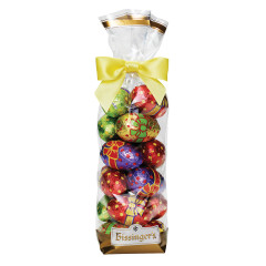 BISSINGER'S EASTER MILK CHOCOLATE FOIL EGGS 7 OZ BAG