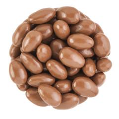 NASSAU CANDY BELGIAN MILK CHOCOLATE ALMONDS