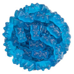 CLEVER CANDY BOPPIN BLUE RASPBERRY GUMMY BEARS