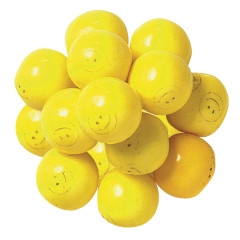 SMILEY FACE 850 CT GUMBALLS