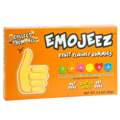 EMOJI THUMBS UP GUMMY CANDY 3.5 OZ THEATER BOX