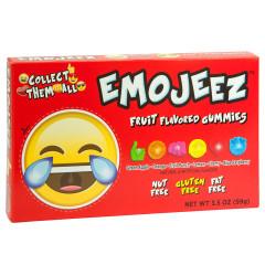EMOJI LAUGHING CRYING GUMMY CANDY 3.5 OZ THEATER BOX