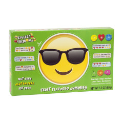 EMOJI SUNGLASSES GUMMY CANDY 3.5 OZ THEATER BOX