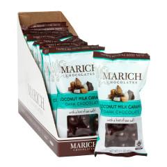 MARICH DARK CHOCOLATE COCONUT MILK CARAMELS 2.1 OZ