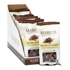 MARICH MILK CHOCOLATE SALTED ALMONDS 2.3 OZ