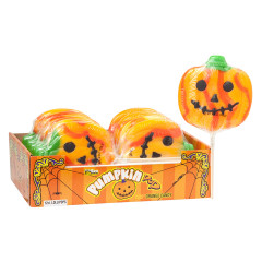 HALLOWEEN JUMBO PUMPKIN LOLLIPOP 4.5 OZ