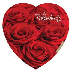 ELMER'S ROSE BOUQUET 18 OZ HEART BOX