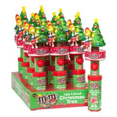 M&M'S LIGHT & SOUND CHRISTMAS TREE 0.46 OZ