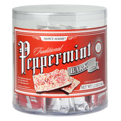 NANCY ADAMS PEPPERMINT BARK SINGLES 1.2 OZ