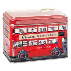 CHURCHILL'S LONDON BUS TOFFEE 7.05 OZ TIN