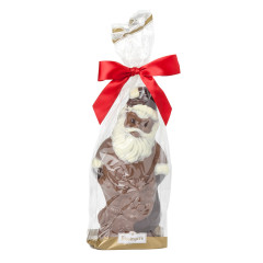 BISSINGER'S HAND PAINTED MILK CHOCOLATE SANTA 8 OZ