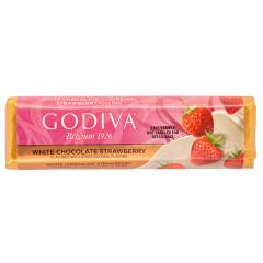 GODIVA WHITE CHOCOLATE STRAWBERRY 1.5 OZ BAR