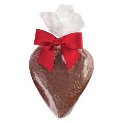 BISSINGER'S SOLID MILK CHOCOLATE HEART 4.75 OZ BAG