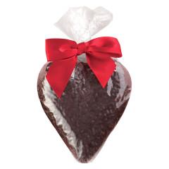 BISSINGER'S SOLID DARK CHOCOLATE HEART 4.75 OZ BAG