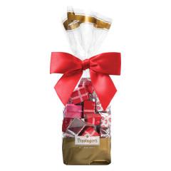 BISSINGER'S SOLID DARK CHOCOLATE VALENTINE'S DAY PRESENTS 7 OZ BAG