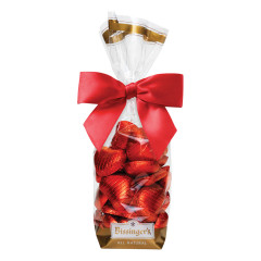 BISSINGER'S MILK CHOCOLATE FOIL HEARTS 6 OZ BAG