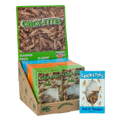 CRICK - ETTES - REAL CRICKETS - ASSORTED