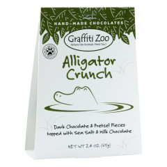 GRAFFITI ZOO ALLIGATOR CRUNCH 2.4 OZ BOX *FL DC ONLY*