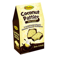 ANASTASIA PINA COLADA COCONUT PATTIES 10.6 OZ GABLE BOX *FL DC ONLY*