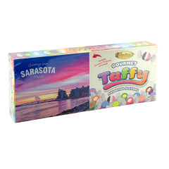 ANASTASIA ASSORTED TAFFY SARASOTA POSTCARD 7 OZ BOX *FL DC ONLY*