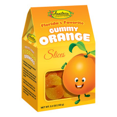 ANASTASIA GUMMY ORANGE SLICES 5.5 OZ GABLE BOX *FL DC ONLY*