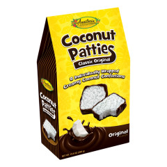 ANASTASIA ORIGINAL COCONUT PATTIES 10.6 OZ GABLE BOX *FL DC ONLY*