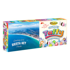 ANASTASIA ASSORTED TAFFY SIESTA KEY POSTCARD 7 OZ BOX *FL DC ONLY*