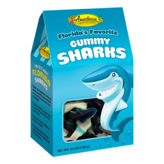 ANASTASIA GUMMY SHARKS 5.5 OZ GABLE BOX *FL DC ONLY*