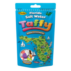 ANASTASIA FLORIDA MAP ASSORTED TAFFY 14 OZ POUCH *FL DC ONLY*
