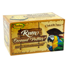 ANASTASIA RUM COCONUT PATTIES 8 OZ BOX *FL DC ONLY*