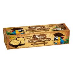 ANASTASIA RUM COCONUT PATTIES 12 OZ BOX *FL DC ONLY*