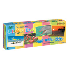 ANASTASIA FLORIDA POSTCARD ASSORTED TAFFY 14 OZ BOX *FL DC ONLY*