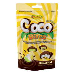 ANASTASIA ASSORTED FLAVOR COCO BITES 12 OZ POUCH *FL DC ONLY*