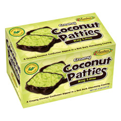 ANASTASIA KEY LIME COCONUT PATTIES 8 OZ BOX *FL DC ONLY*