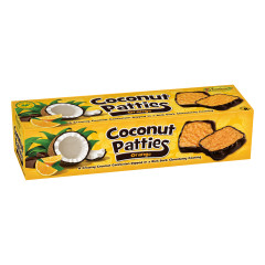ANASTASIA ORANGE COCONUT PATTIES 12 OZ BOX *FL DC ONLY*