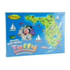 ANASTASIA FLORIDA MAP ASSORTED TAFFY 12 OZ BOX *FL DC ONLY*