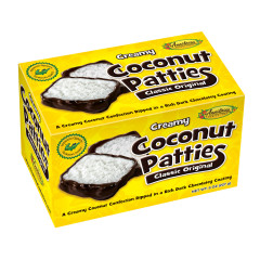 ANASTASIA ORIGINAL COCONUT PATTIES 8 OZ BOX *FL DC ONLY*