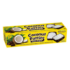 ANASTASIA ORIGINAL COCONUT PATTIES 12 OZ BOX