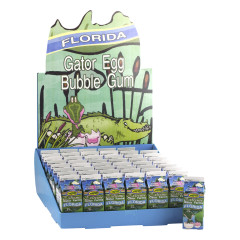 CITRA FLORIDA GATOR EGG BUBBLE GUM CARTON *FL DC ONLY*