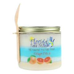 FLORIDA SALT SCRUBS SEA SALT GRAPEFRUIT SCRUB 24.2 OZ JAR *FL DC ONLY*