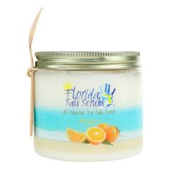 FLORIDA SALT SCRUBS SEA SALT ORANGE SCRUB 24.2 OZ JAR *FL DC ONLY*