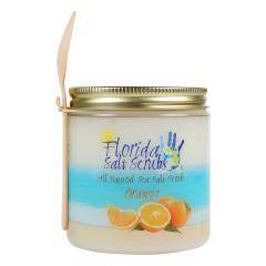 FLORIDA SALT SCRUBS SEA SALT ORANGE SCRUB 12.1 OZ JAR *FL DC ONLY*