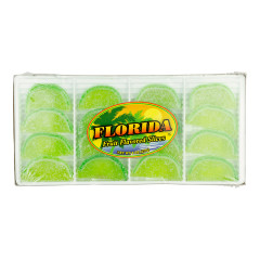 FLORIDA KEY LIME FRUIT SLICES 8 OZ BOX *FL DC ONLY*