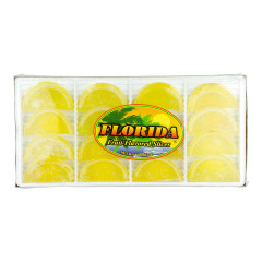 FLORIDA LEMON FRUIT SLICES 8 OZ BOX *FL DC ONLY*