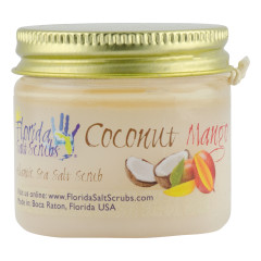FLORIDA SALT SCRUBS COCONUT MANGO 2.9 OZ JAR *FL DC ONLY*
