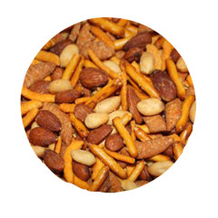 NASSAU CANDY SMOKEY CHEDDAR CRUNCH MIX