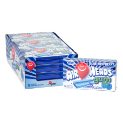 AIRHEADS SUGAR FREE BLUE RASPBERRY GUM 14 PC 1.19 OZ