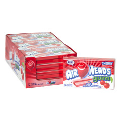 AIRHEADS SUGAR FREE CHERRY GUM 14 PC 1.19 OZ