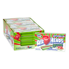 AIRHEADS SUGAR FREE WATERMELON GUM 14 PC 1.19 OZ