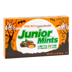 JUNIOR MINTS HALLOWEEN 3.5 OZ THEATER BOX
